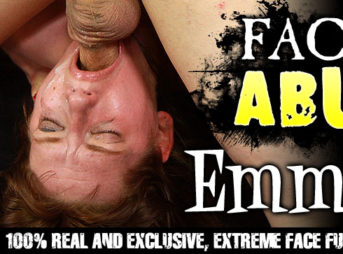 Emma Love Gets Face Fucked on Facial Abuse